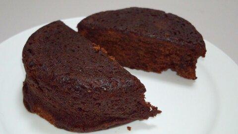 2層のチョコケーキ④