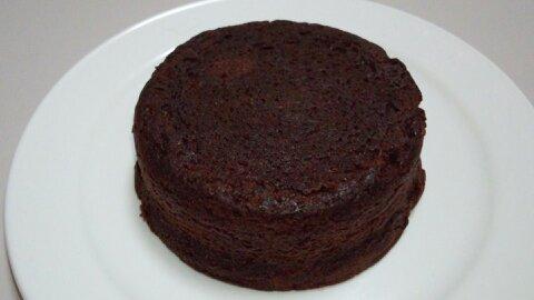 2層のチョコケーキ②