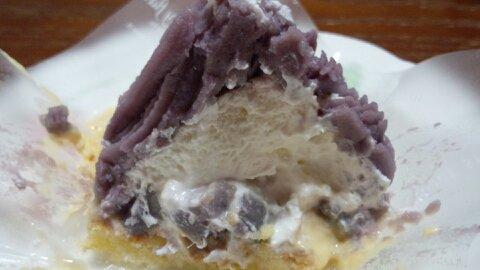 サンタ紫芋モンブラン②
