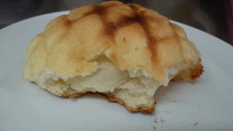 発酵バターメロンパン②