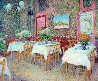 フィンセント・ファン・ゴッホ『レストランの内部』(1887年)