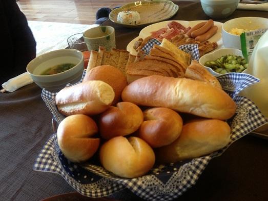kちゃんのお手製のパン