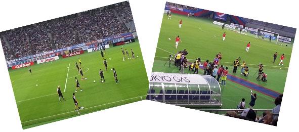サッカー(対鹿島)07192014