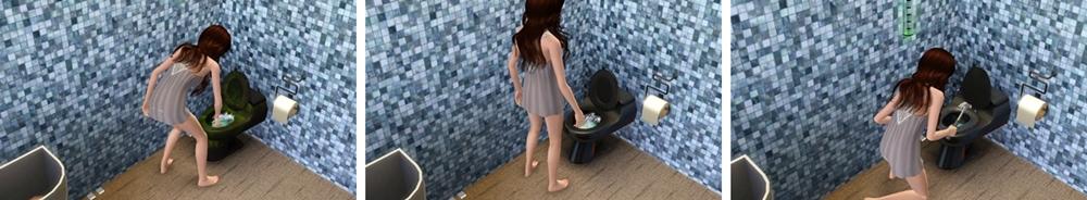 ハンジさんトイレ掃除