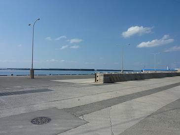 喜界島の港