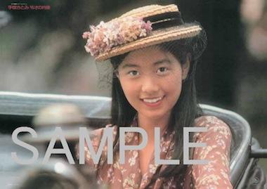 特典ポスター SAMPLE 手塚理美 15才の肖像 W420H297