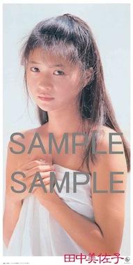 特典ポスター画像 SAMPLE 田中美佐子 夢売りのピエロ W290H580