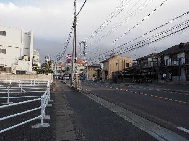 国道14号線。県管理のしょぼい道路。京葉道路はバイパスとなります。
