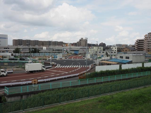 船橋行徳線との交差部。