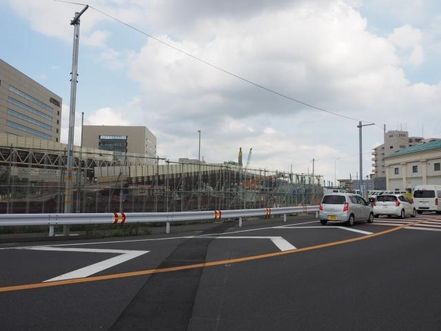 外環大和田相談所から市川インター方面。