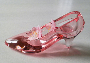 ガラスの靴とアンズ
