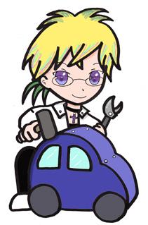 イギーとおもちゃの車