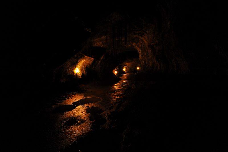 ハワイ ハワイ島のナーフク(サーストン溶岩洞)