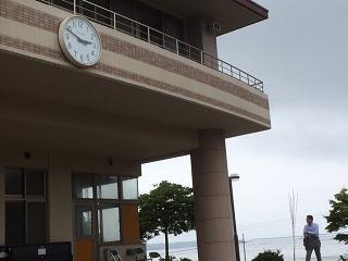 戸倉中学校時計