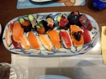 母の日お寿司