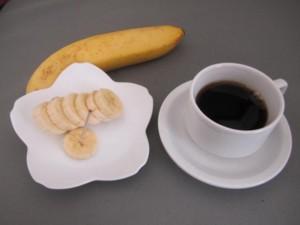 バナナとコーヒー