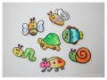 アイロンワッペン-小さな生き物-2