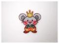 アイロンワッペン-ネズミの王様