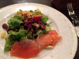 前菜というよりはグリーンサラダ?