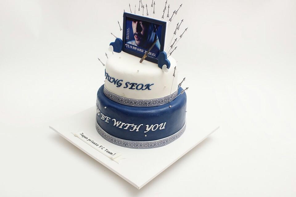 逆鱗ケーキ2