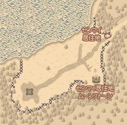 センマイ城地図