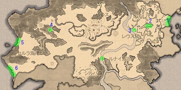 ピシス地図