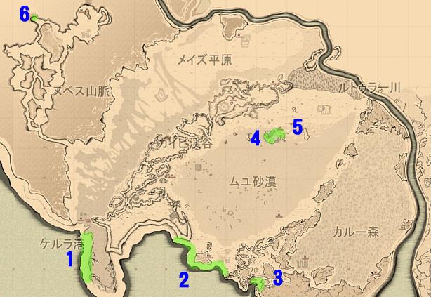 地図-ラノ地方
