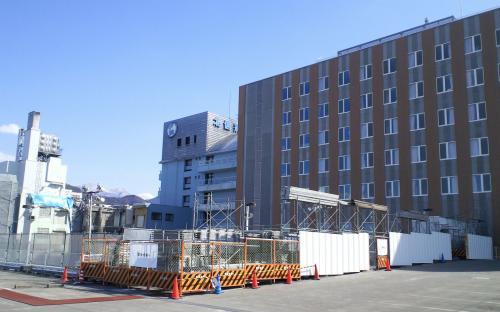 北信病院へ診察に(26.3.9)