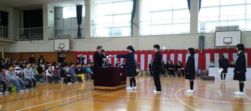西小学校卒業式(26.3.18)