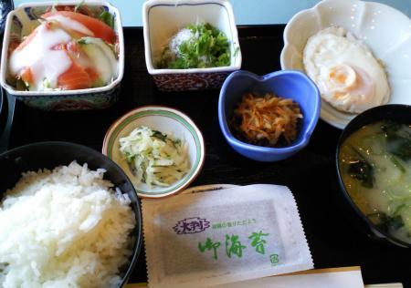 朝食(26.3.23)