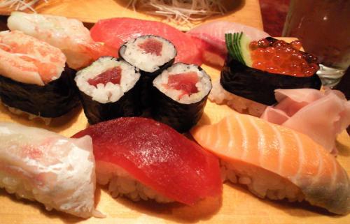 〆はお寿司(26.3.30)