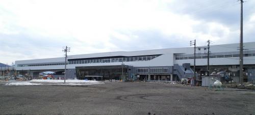 北陸新幹線飯山駅(26.4.3)