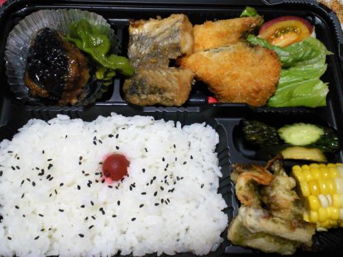 夕飯弁当(26.7.18)