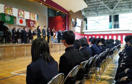 山ノ内中学校入学式(26.4.4)