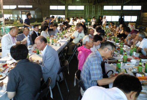 夕食会(26.7.19)