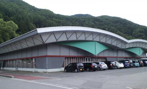 楢川屋内運動場(26.8.3)