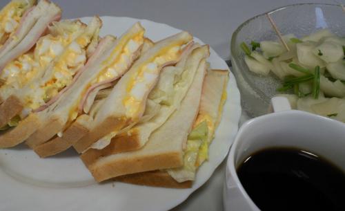 理事会軽食(26.4.24)