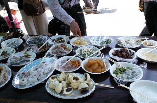 女衆渾身のお料理の数々(26.4.27)