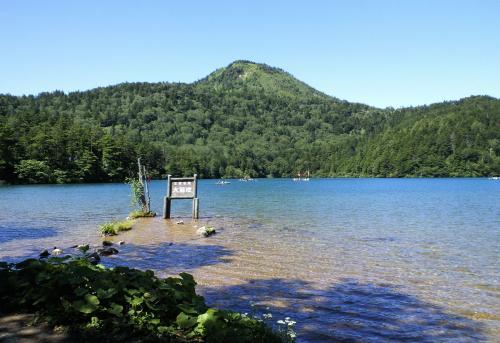 志賀山と大沼池(26.8.22)