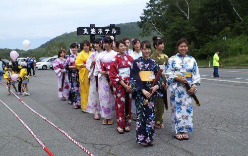 ミス志賀高原候補のみなさん(26.8.24)
