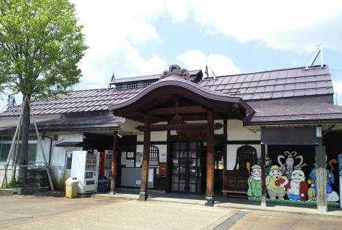 JR飯山駅(26.5.10)