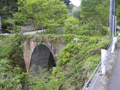 下流から廃道の橋(26.5.16)