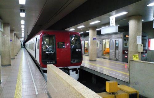 長野駅のスノーモンキー号(26.6.1)