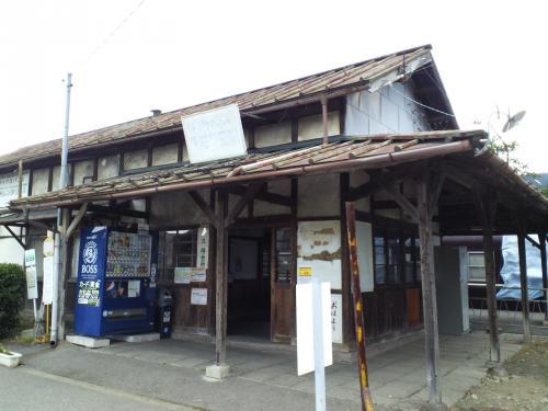 旧信濃川田駅(26.6.5)