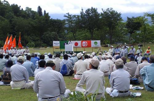 平成26年度北信州植樹祭(26.6.14)