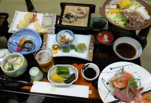 「おもだか」さんお料理(26.6.29)