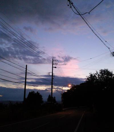今日の夕景(26.7.5)