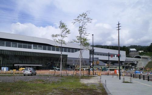 北陸新幹線飯山駅(26.7.6)