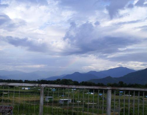 かすかな虹(26.7.8)