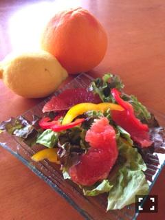グレフルサラダ